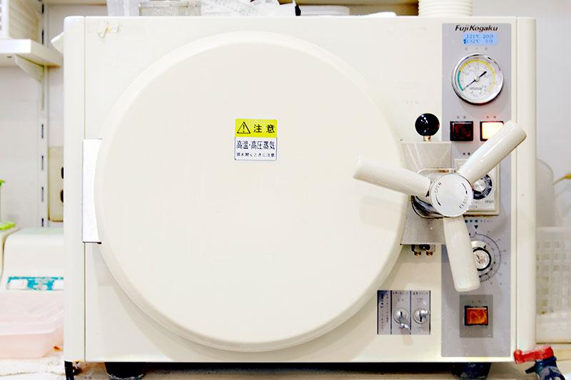 高気圧蒸気滅菌機 診療器具