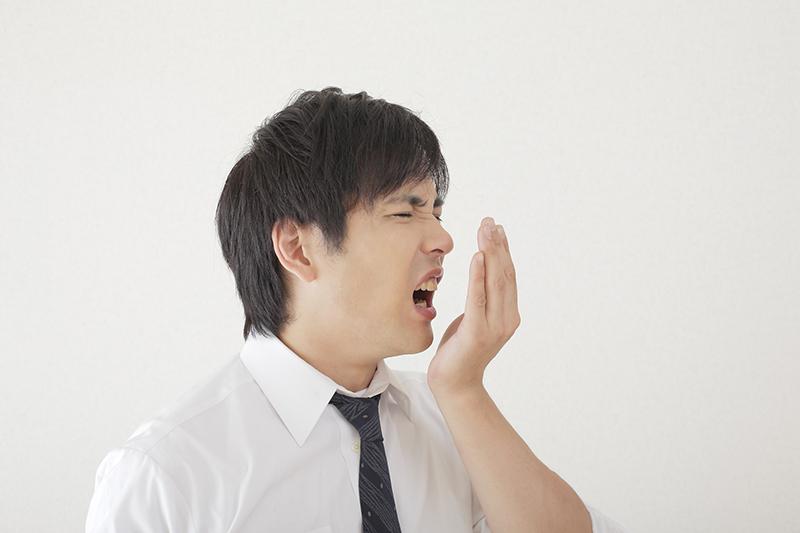 歯周病などが原因となり口臭が発生することも